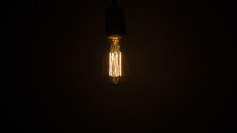 Free stock photo of beautiful, dark, darkness, desk lamp