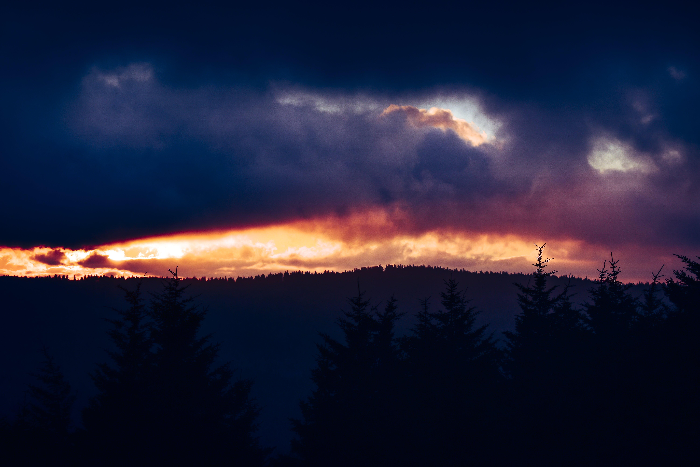 Immagine gratuita di alba, cielo, colore, drammatico