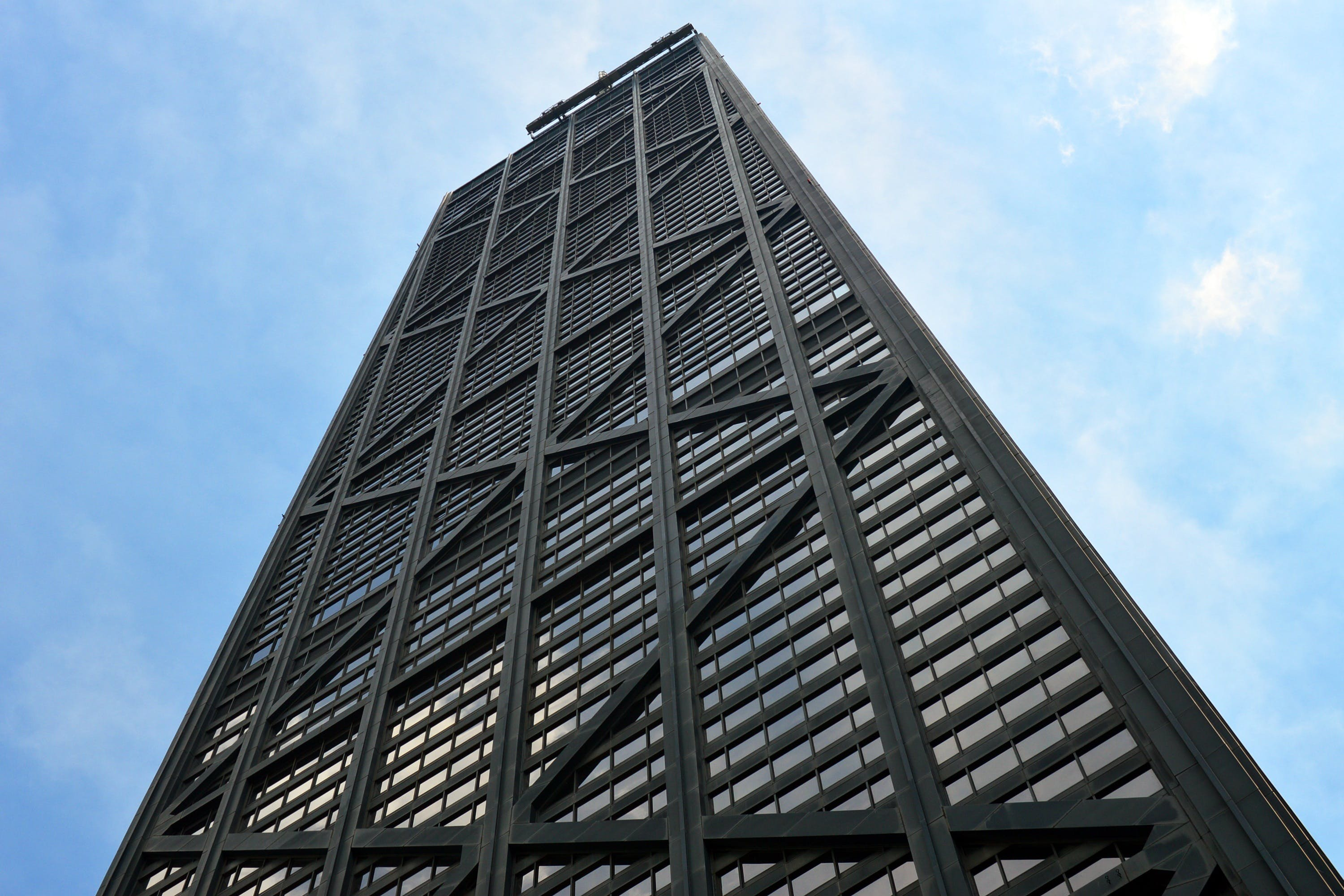 Low Angle Photography of Black High Rise Building
