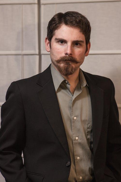 Immagine gratuita di baffi, barba, blazer, camicia
