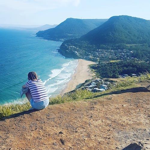 Foto stok gratis #mountain #beach #prettyview