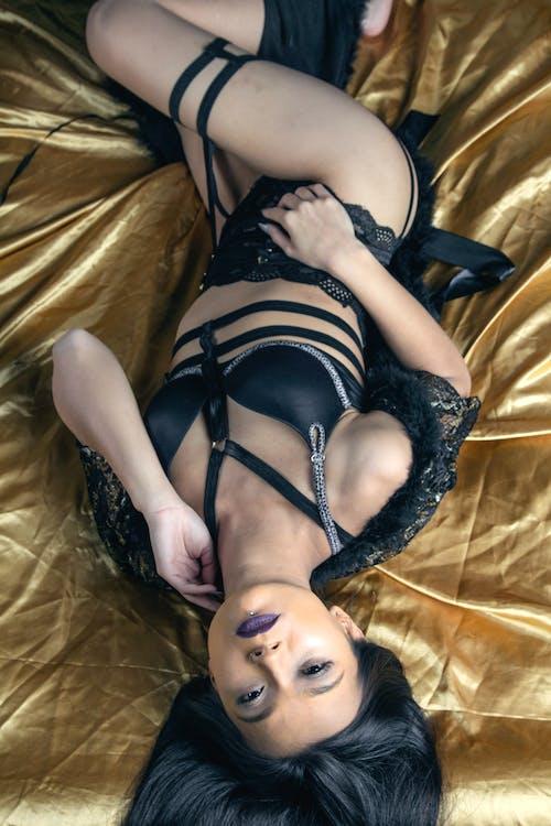 Immagine gratuita di lingerie, modello, salottino, studio