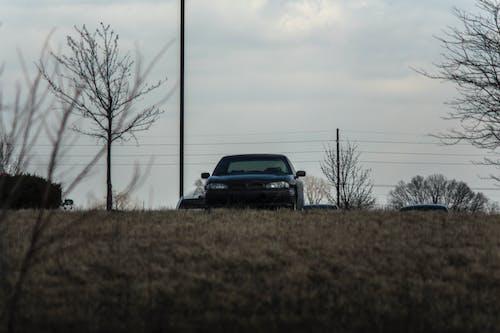 alan, araba, bağbozumu lens, bonneville içeren Ücretsiz stok fotoğraf