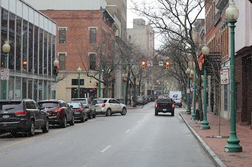 Ingyenes stockfotó capitol utca, enyhe havazás, tél, utca témában