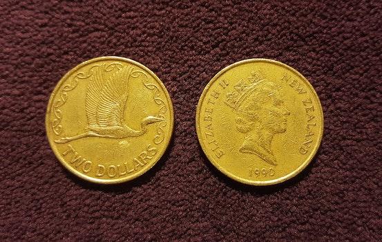 Gold Elizabeth New Zealand 1990 Coin