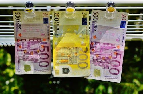 Základová fotografie zdarma na téma euro, finance, hotovost, měna