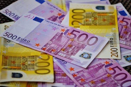 儲蓄, 歐元, 現金, 紙鈔 的 免費圖庫相片