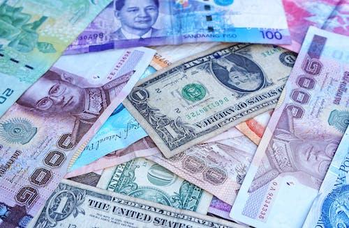 Foto profissional grátis de cédulas, dinheiro, dólar, economia
