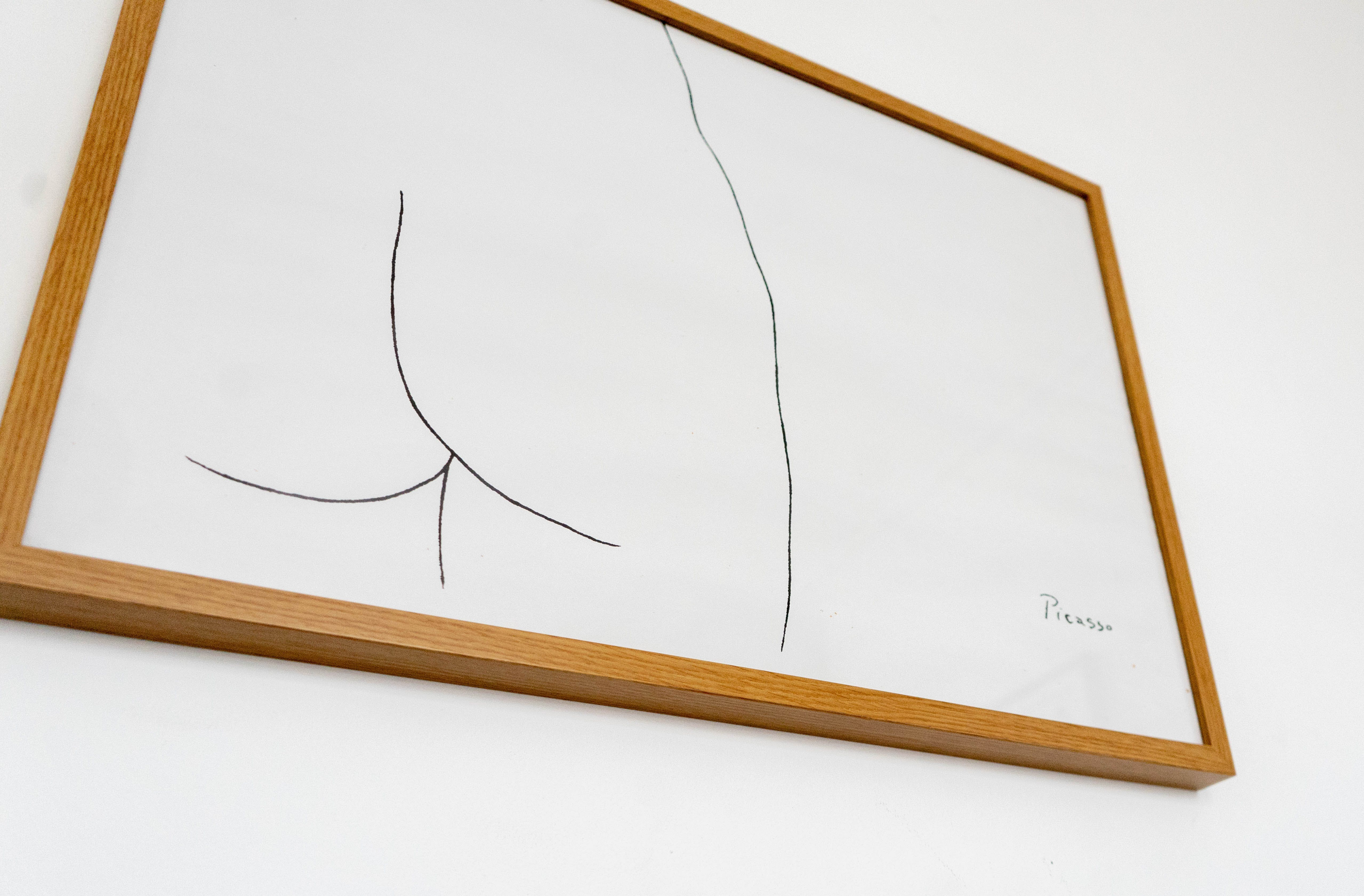 Lines on Whiteboard