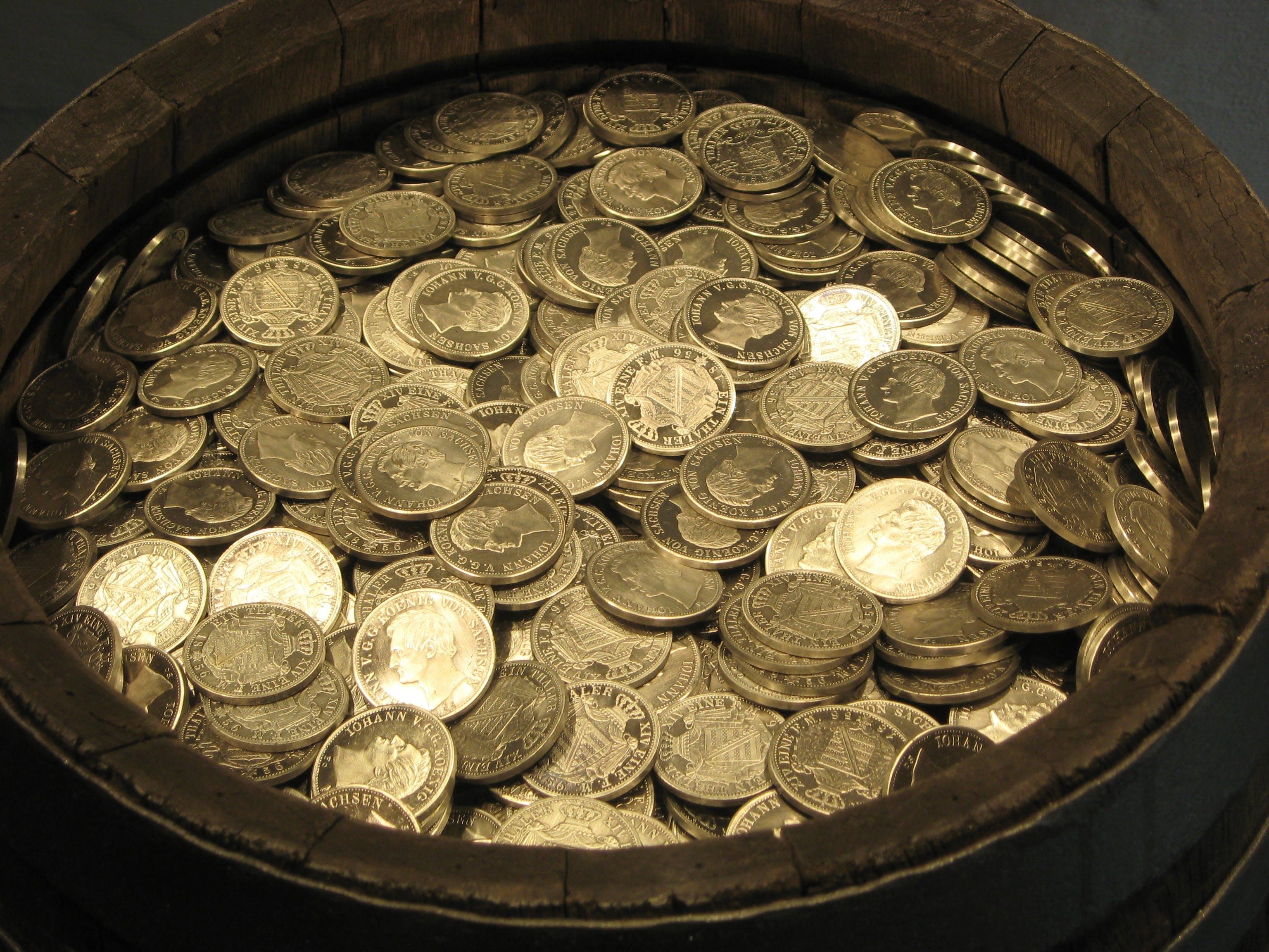 Kostenloses Stock Foto zu ersparnisse, euro, fass, finanzen