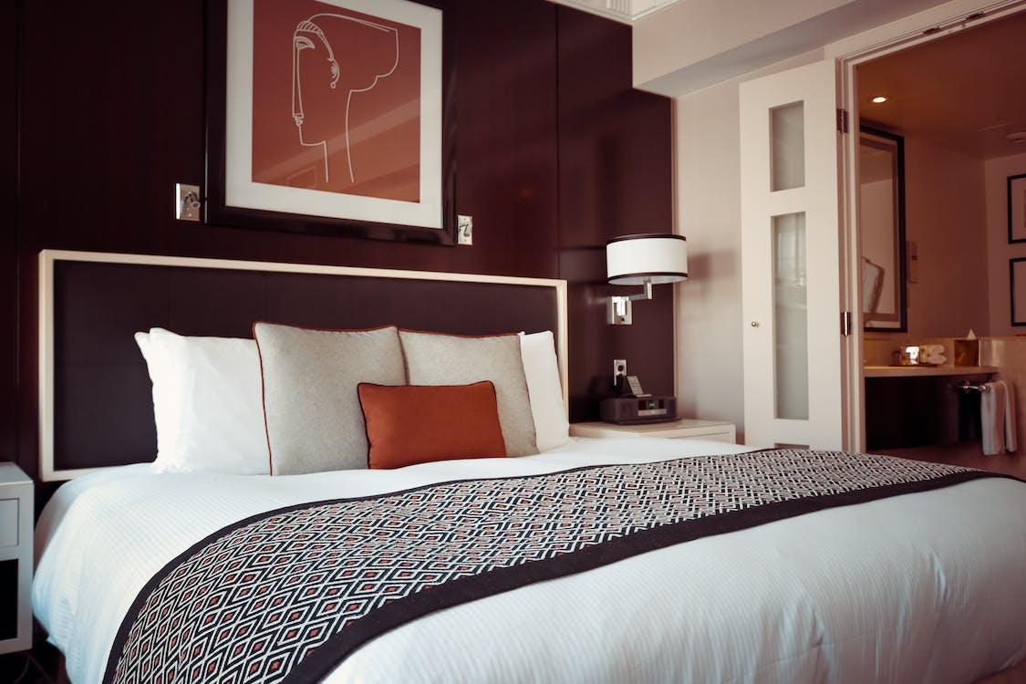 hotel, hyggelig, indendørs
