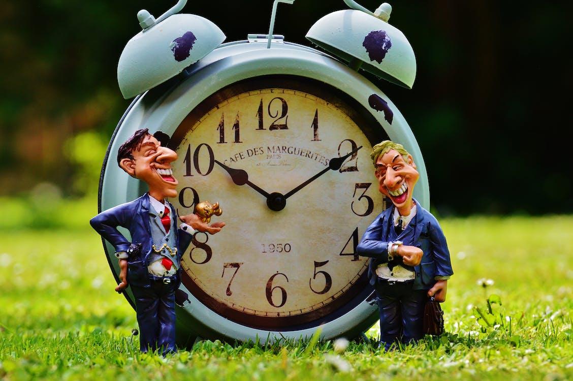 Blue Bell Alarm Clock