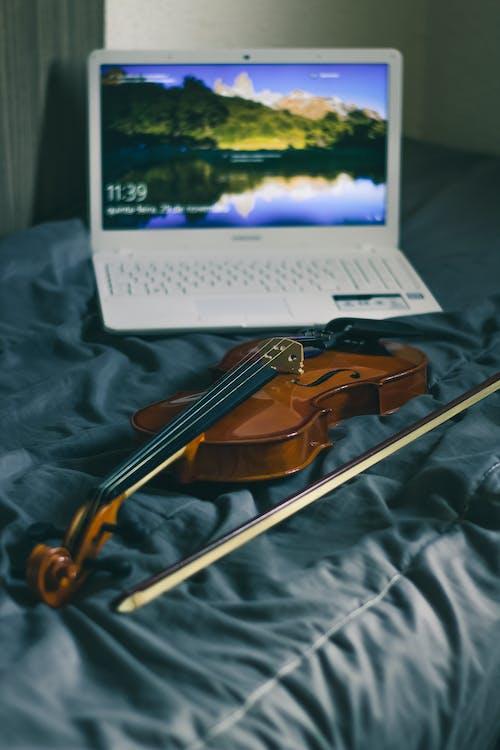 Fotobanka sbezplatnými fotkami na tému elektronika, hudba, hudobný nástroj, husle