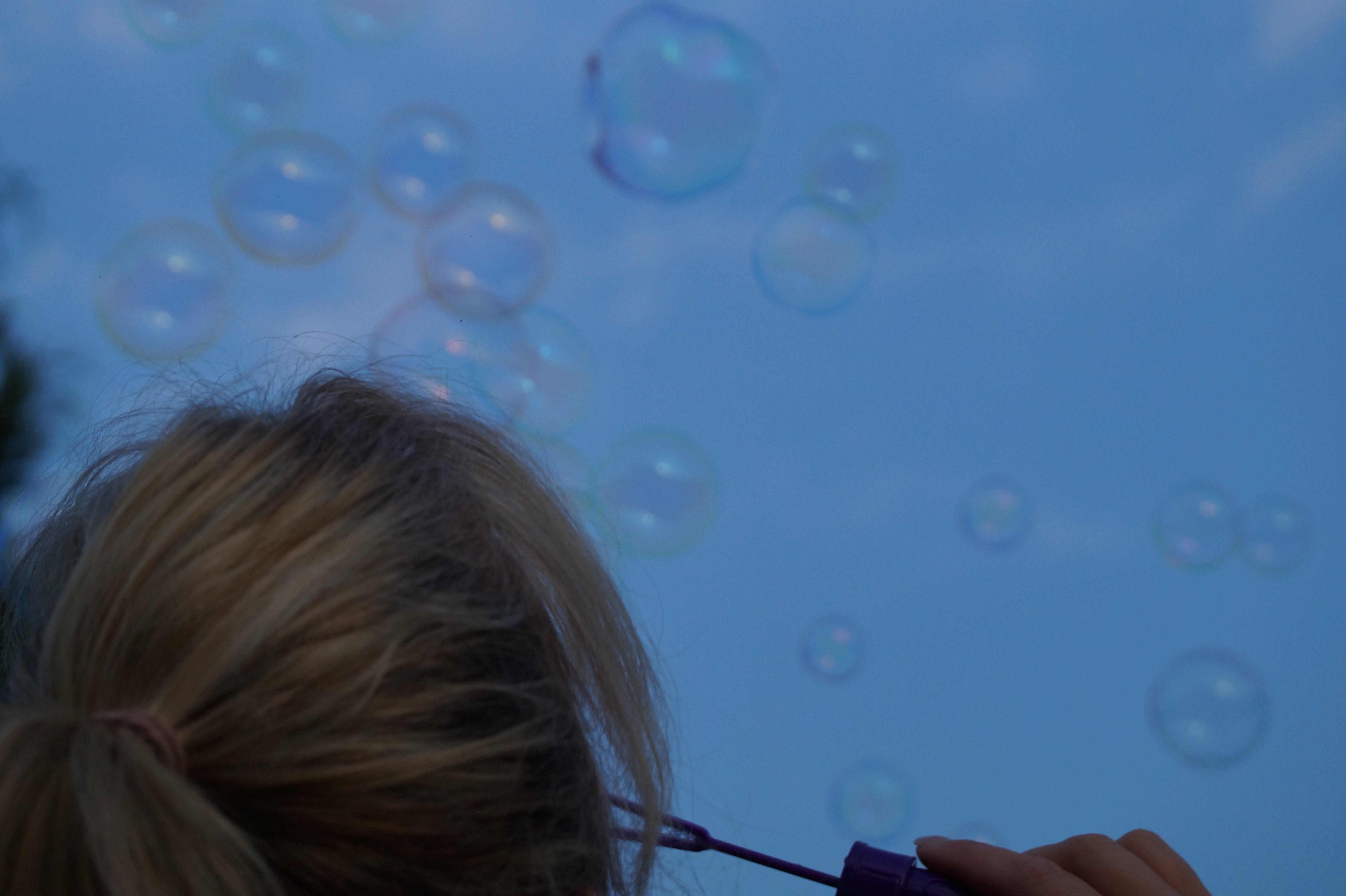 Free stock photo of soap bubbles