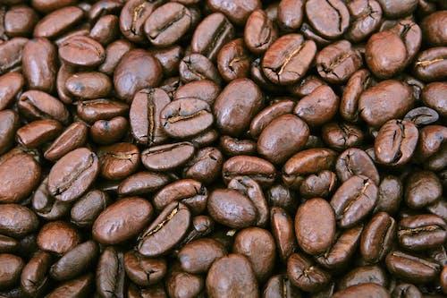 Pilha De Grão De Café