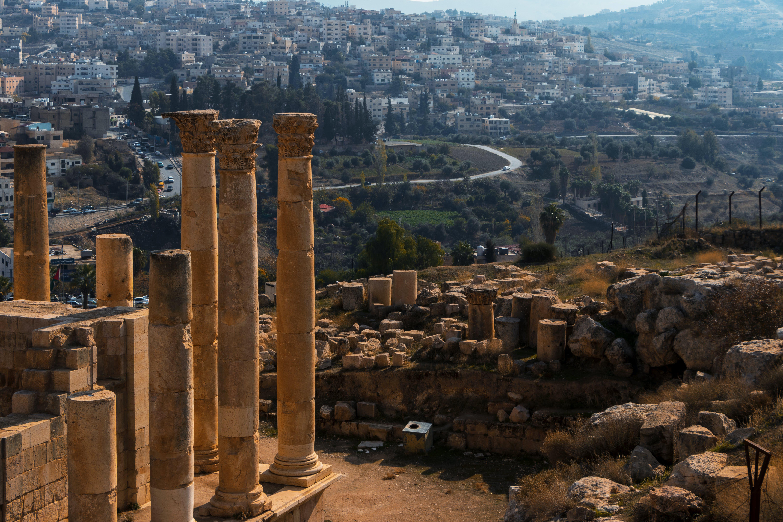Free stock photo of amman, archaeology, jerash, jordan