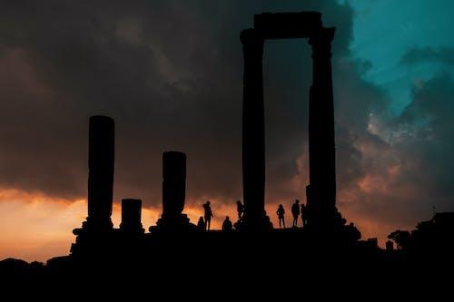 Ilmainen kuvapankkikuva tunnisteilla arkeologia, citadl, Jordan, maailmanperintökohde