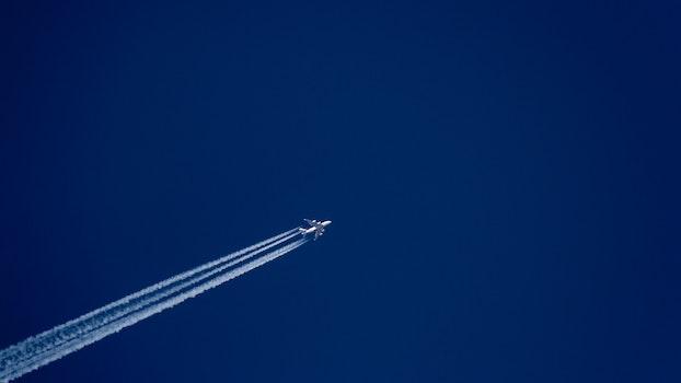 Kostenloses Stock Foto zu flug, himmel, flugzeug, reise