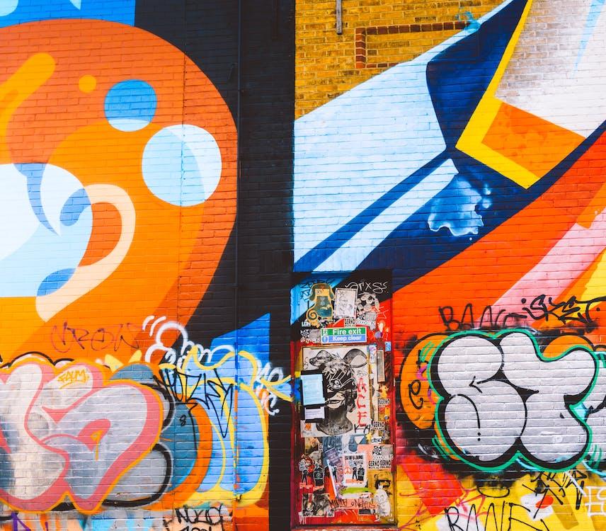 アート, ストリートアート, ファンキー