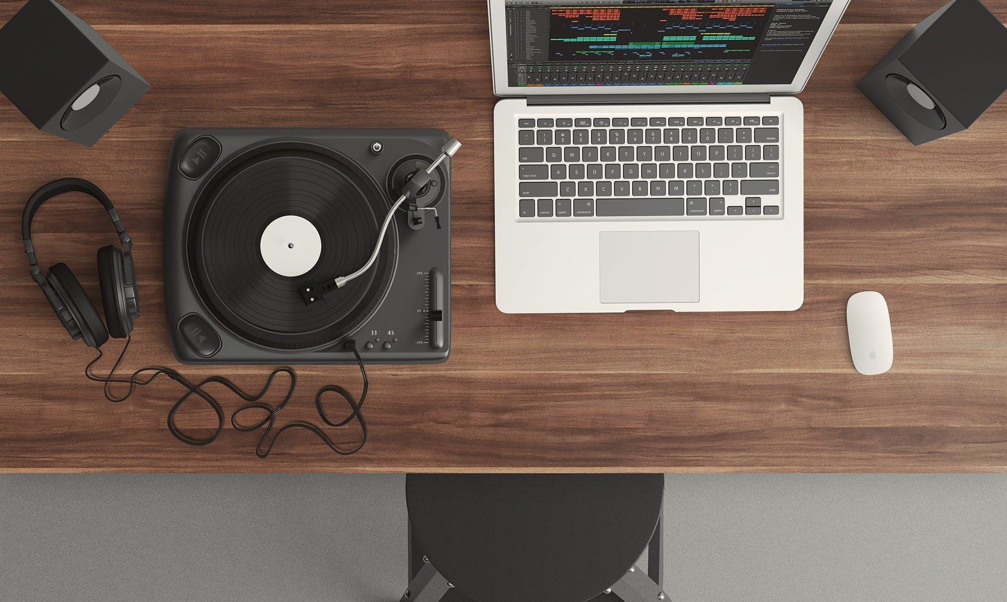 audio, aufnahme, aufsicht