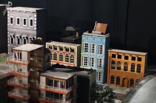 房子模型, 濕地車間 的 免費圖庫相片