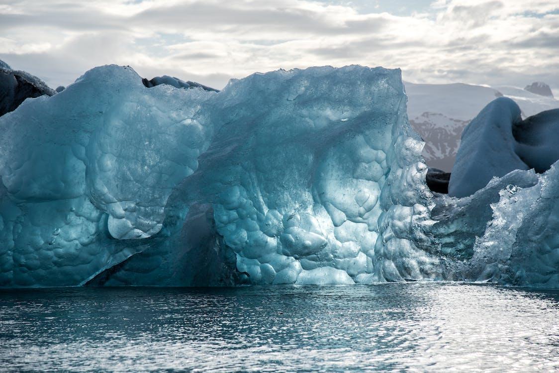 globální oteplování, krajina, led
