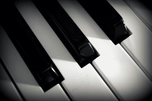 Photos gratuites de clavier, clés, gros plan, instrument de musique