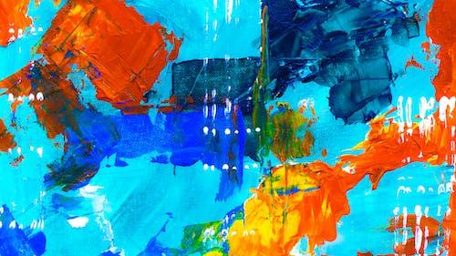 Ảnh lưu trữ miễn phí về bức họa, bức tranh trừu tượng, chủ nghĩa biểu hiện trừu tượng, Đầy màu sắc