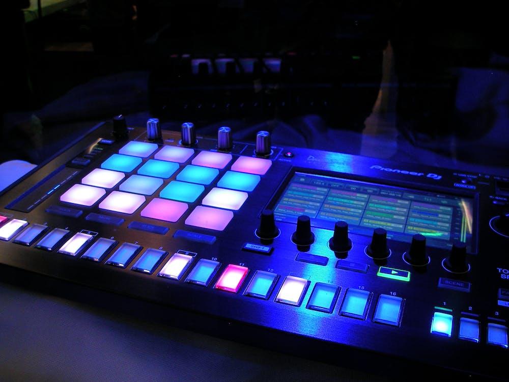 Lighted Dj Board