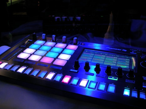 Lighted Dj Board
