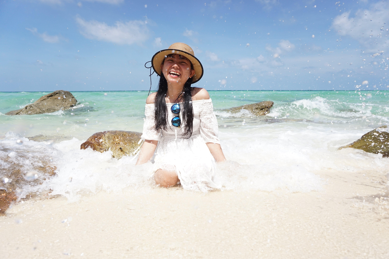 Kostnadsfri bild av asiatisk kvinna, fritid, hav, havsstrand