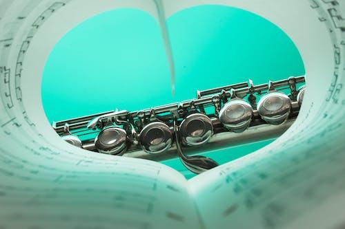 Ingyenes stockfotó hangjegyek, hangszer, közelkép, zene témában