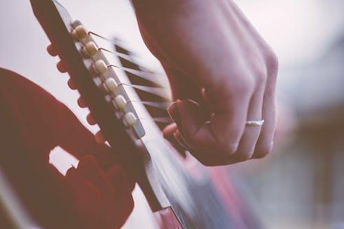 Darmowe zdjęcie z galerii z brzdąkanie, gitara, instrument muzyczny, instrument strunowy