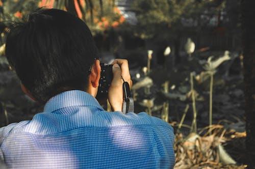 Fotos de stock gratuitas de fotógrafo, haciendo una foto, hombre, persona