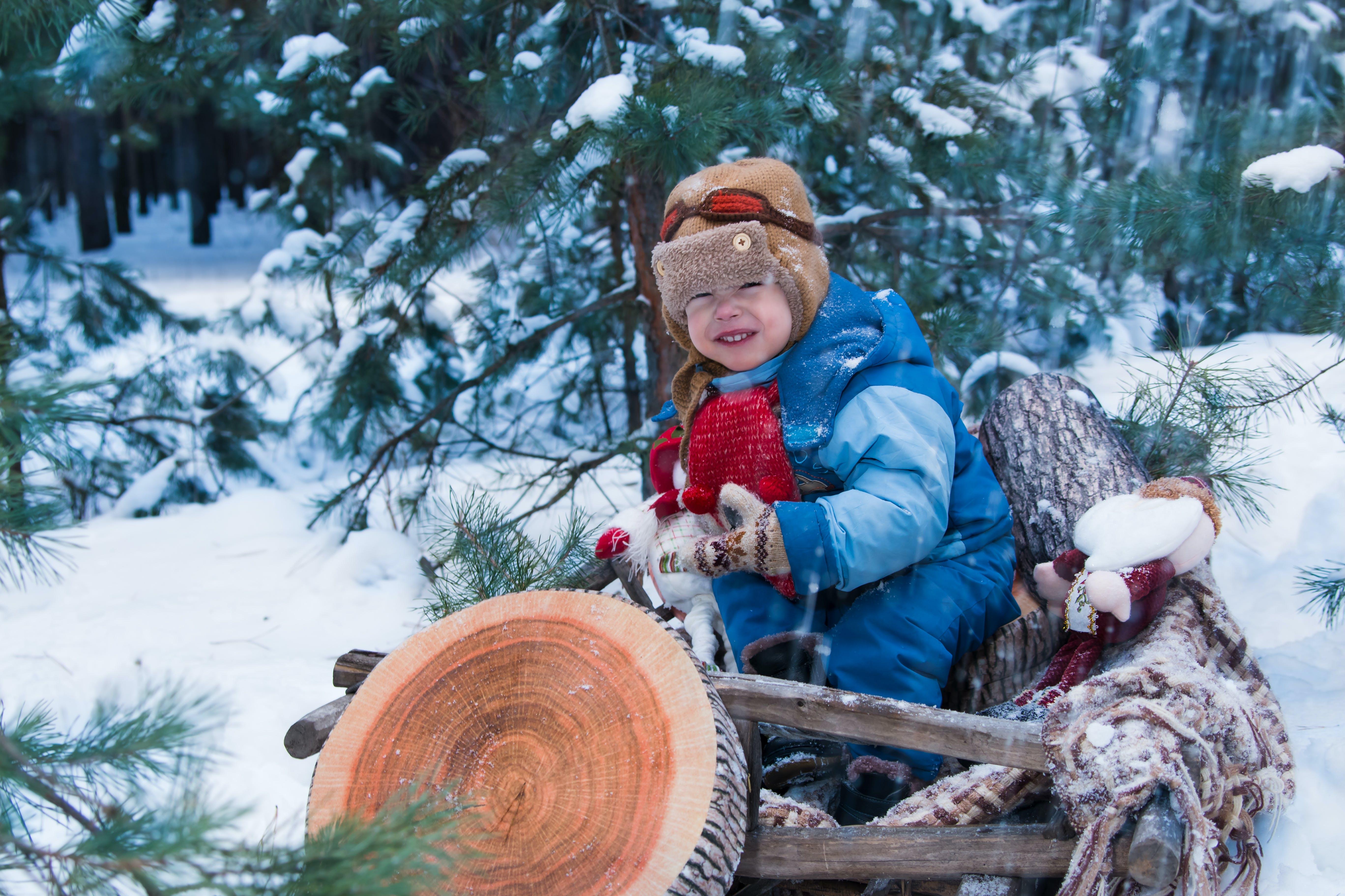 Kostnadsfri bild av barn, fritid, frost, ha på sig