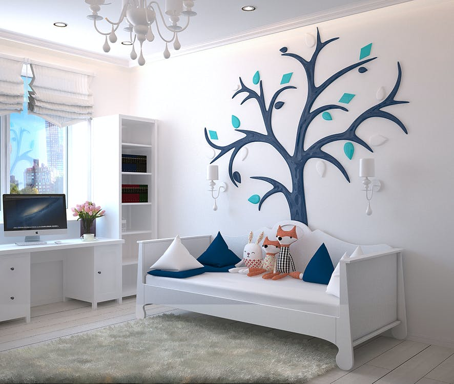 15 Inspiring Wall Décor Ideas for a Kids Room - Articles about Beautiful Decor 5 by  image