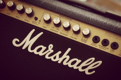 คลังภาพถ่ายฟรี ของ ดนตรี, มาร์แชลล์, ยี่ห้อ, ลูกบิด