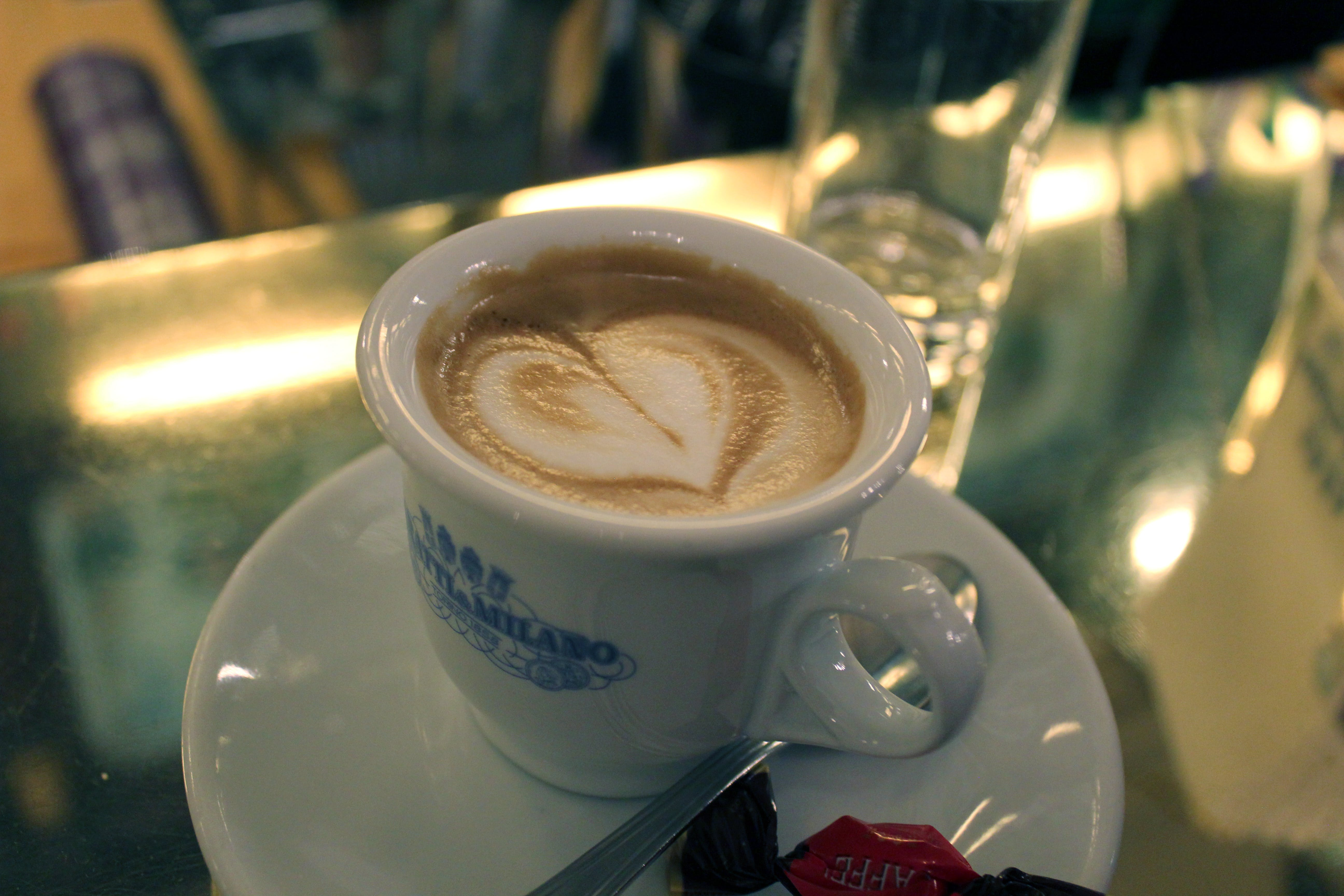 of cappuccino, coffee