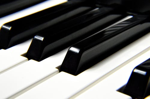 Piano Keys Free Stock Photo