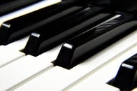 piano, musical instrument, close-up