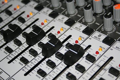 คลังภาพถ่ายฟรี ของ คอนโซล, มิกเซอร์, ออดิโอมิกเซอร์, เครื่องขยายเสียง