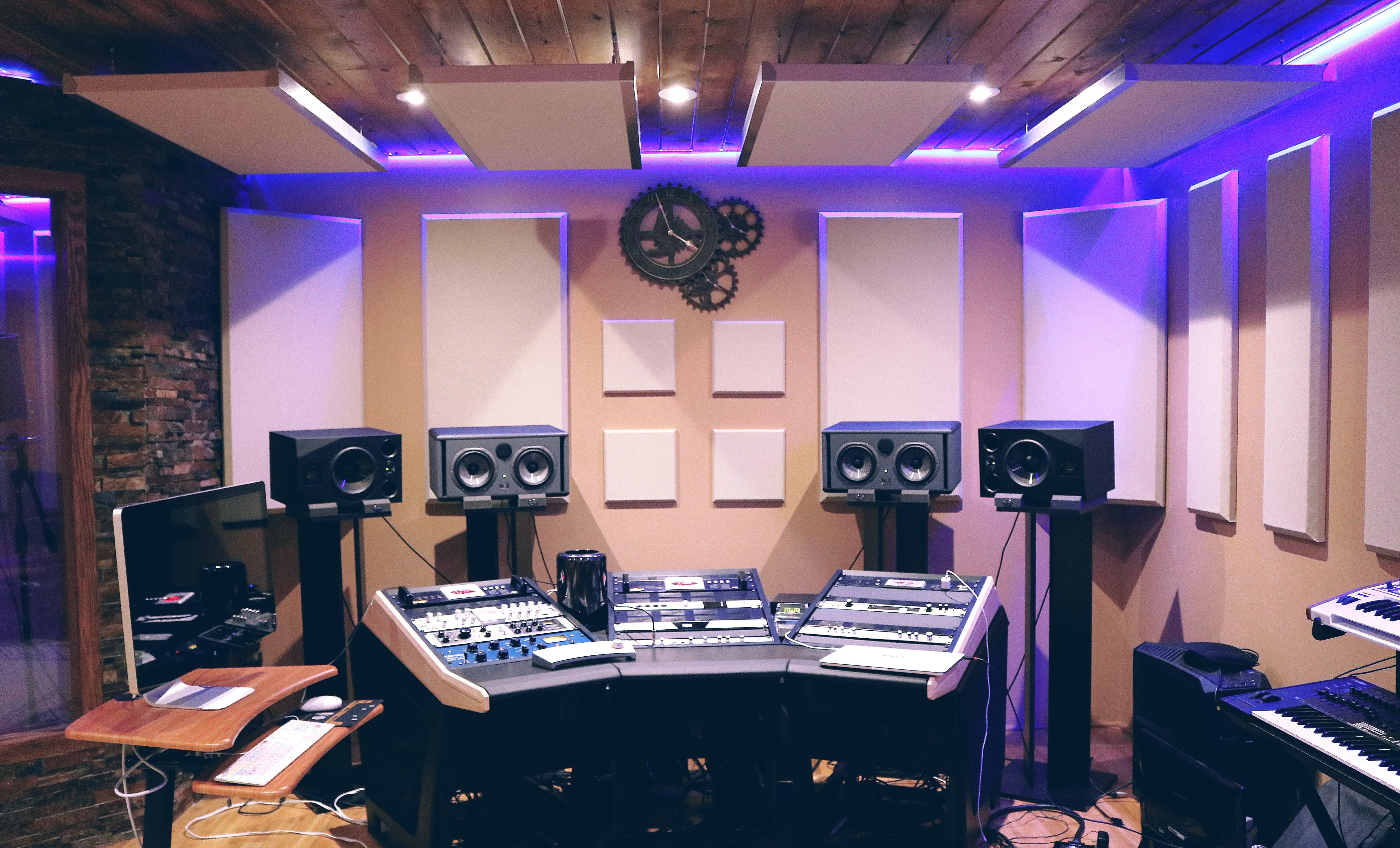 audio, aufnahme, aufnahmestudio