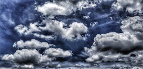 bulutlu gökyüzü içeren Ücretsiz stok fotoğraf