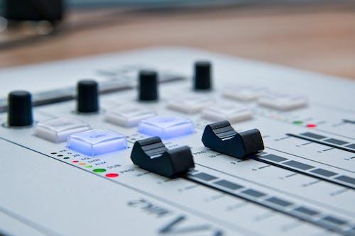 คลังภาพถ่ายฟรี ของ ควบคุม, ความชัดลึก, มิกเซอร์, มิกเซอร์เสียง