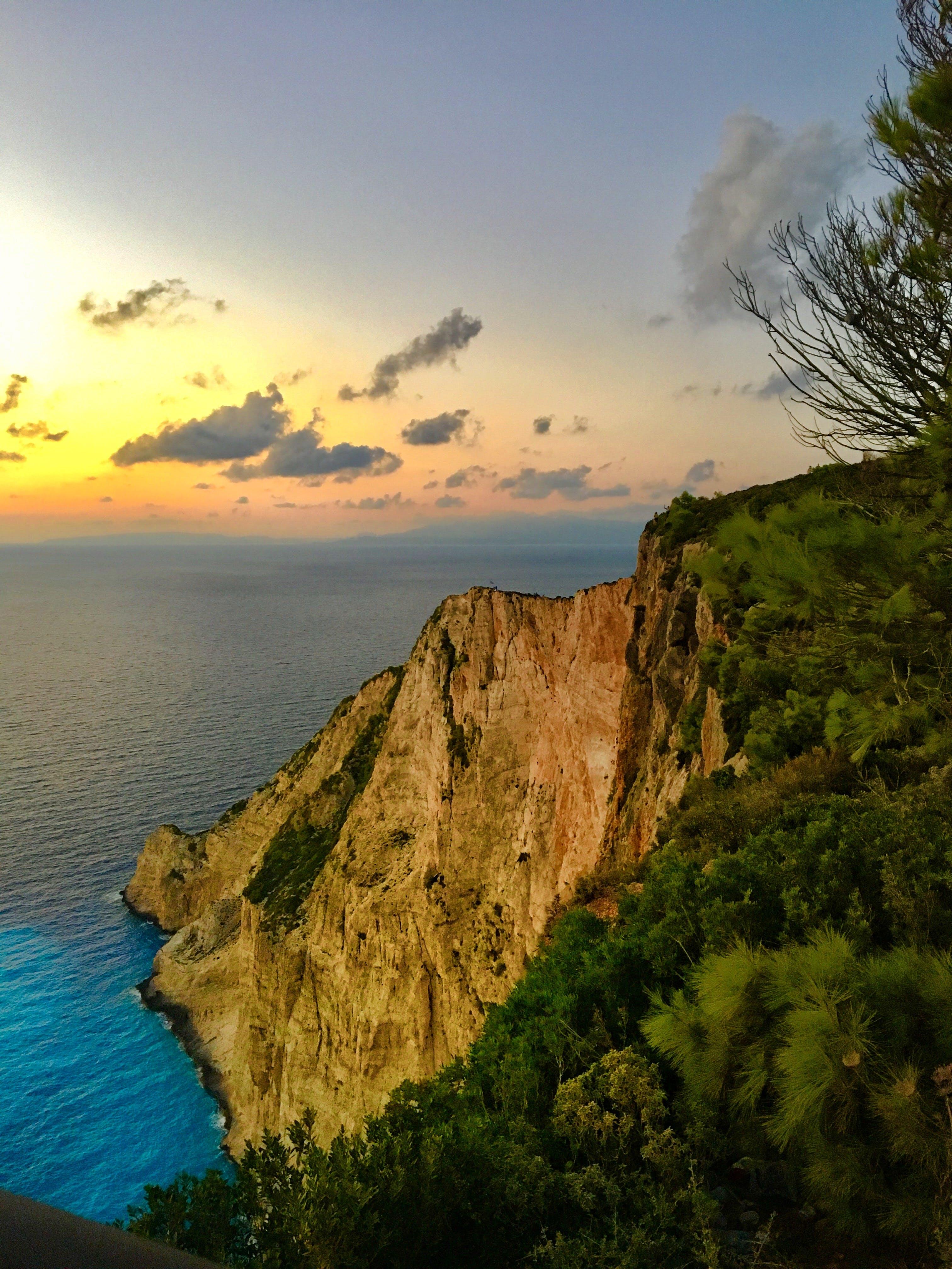 deniz, deniz kıyısı, deniz manzarası, gün doğumu içeren Ücretsiz stok fotoğraf