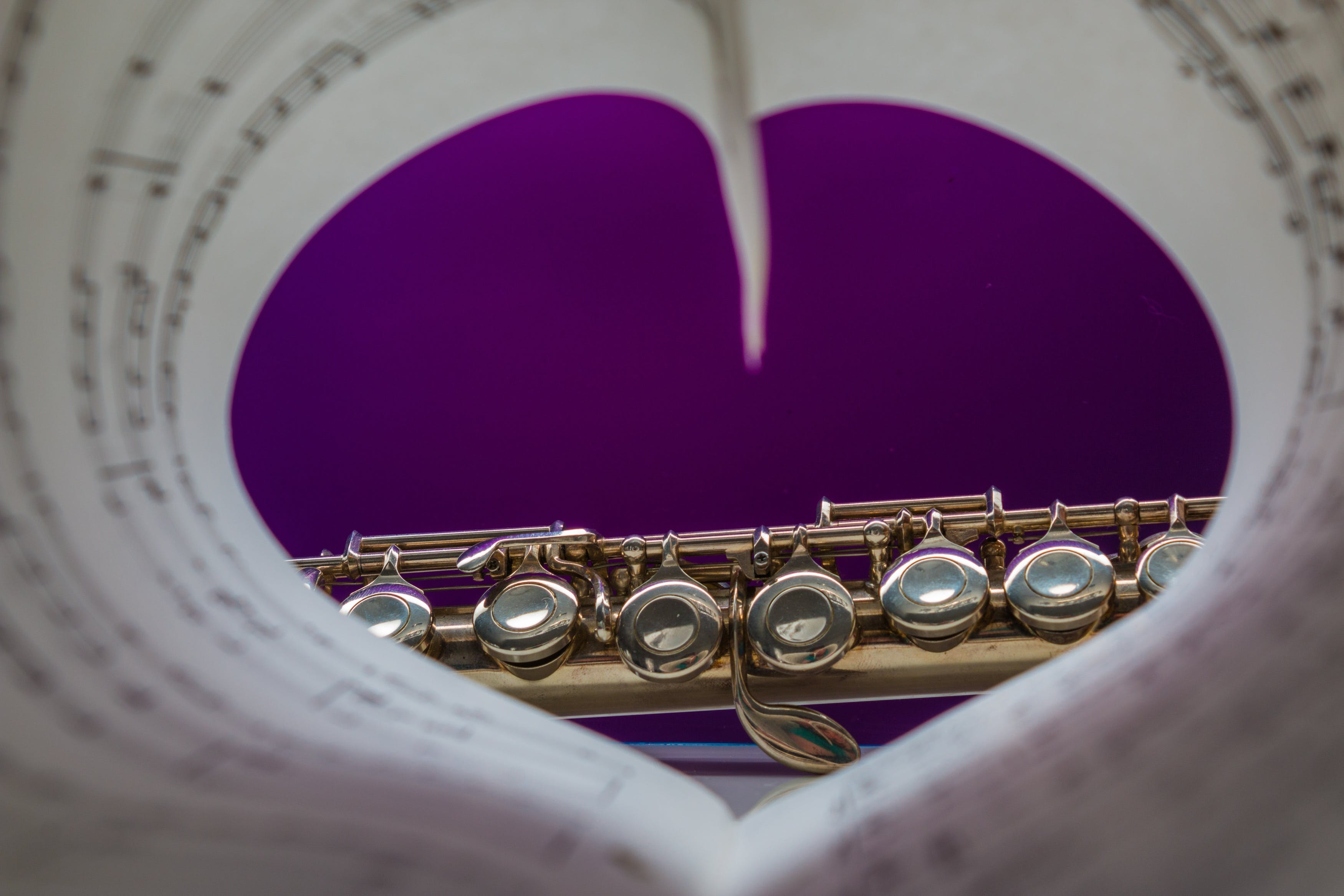 Free stock photo of heart, music, classic, musical instrument