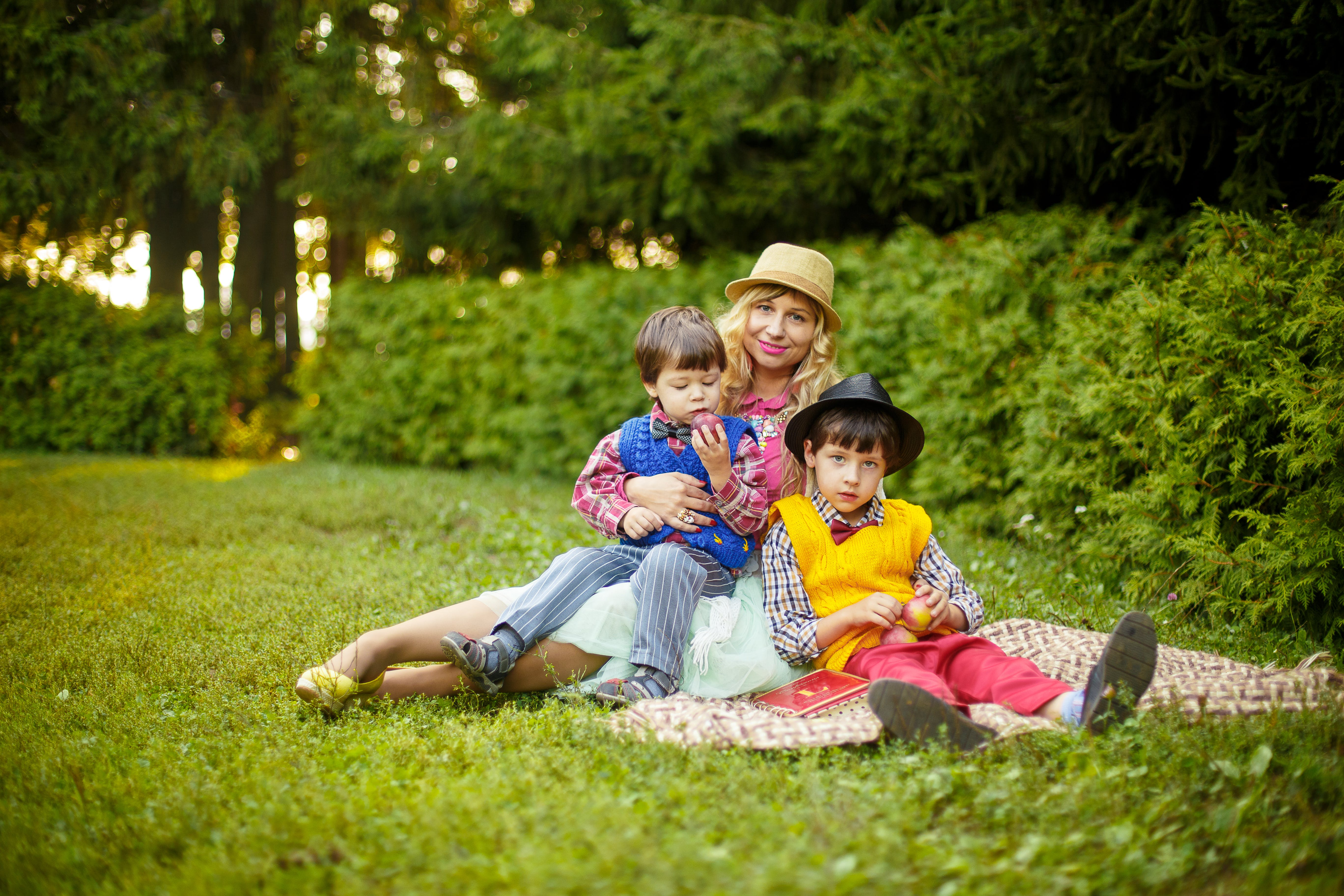 zu familie, fotoshooting, freizeit, freude