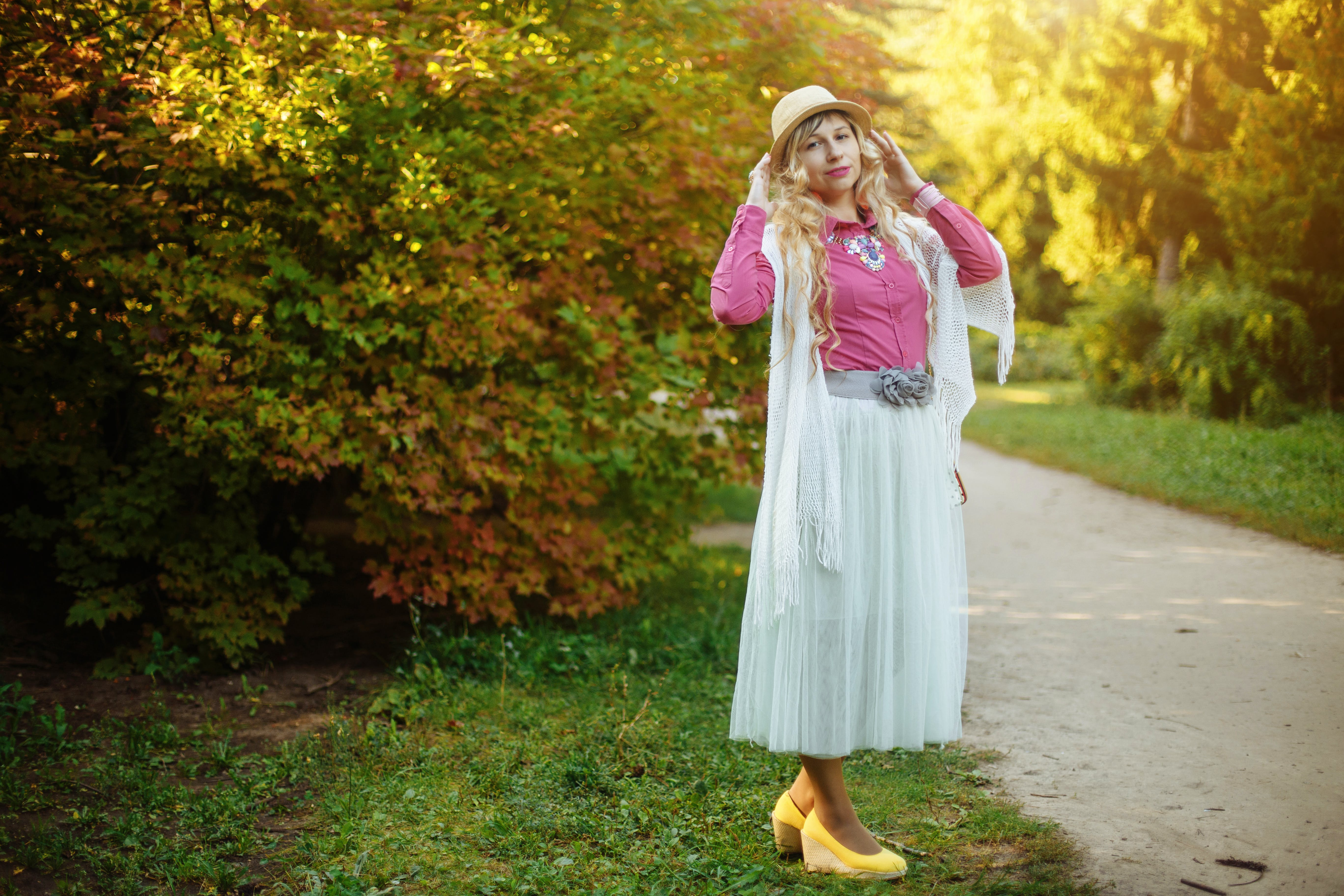 Kostenloses Stock Foto zu blond, fashion, frau, hübsch