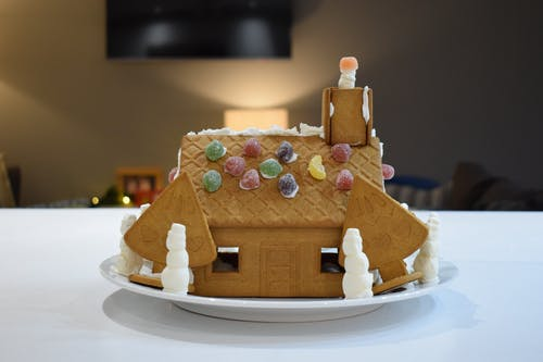 Free stock photo of gingerbread, snowman