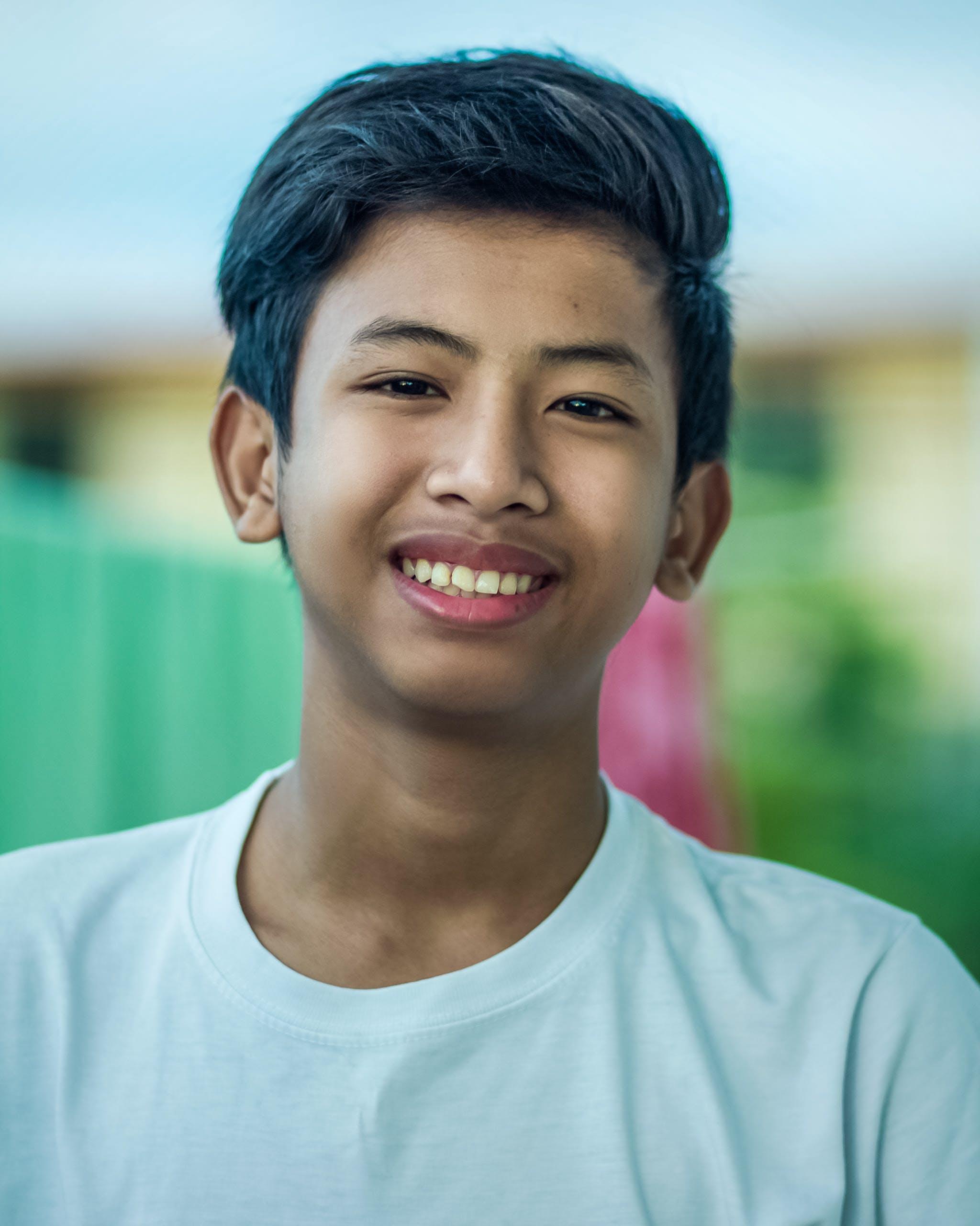 Free stock photo of asian boy
